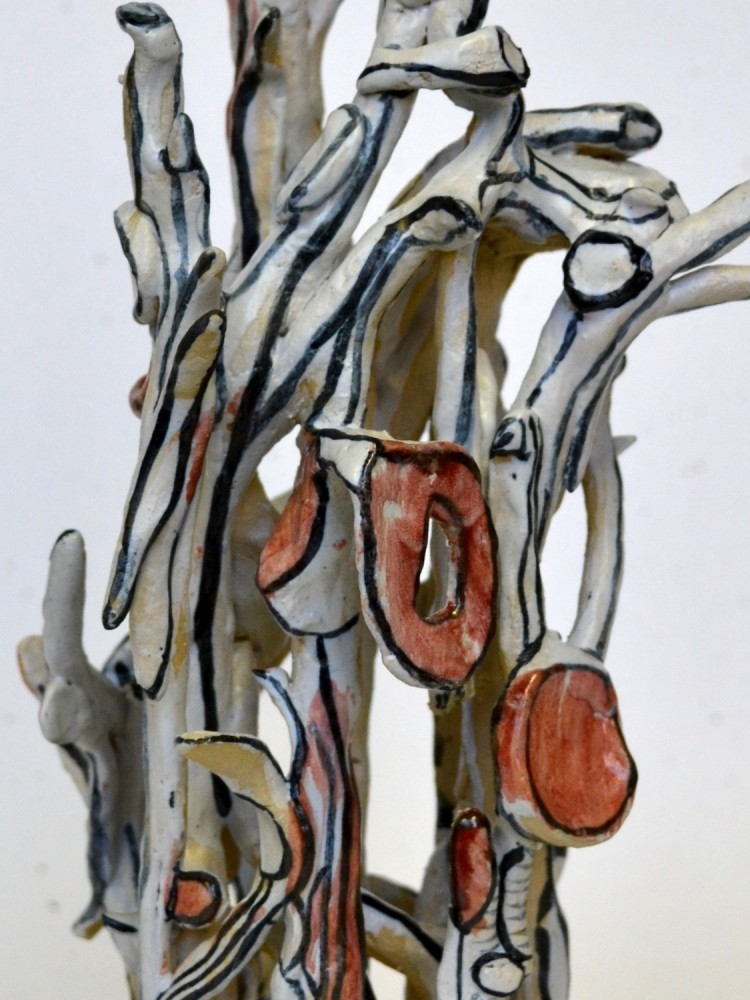 Anna Ramsair ceramic 2018 detail 1